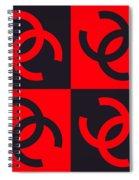 Chanel Design-4 Spiral Notebook