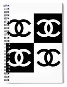 Chanel Design-5 Spiral Notebook