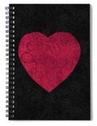 Chanel Heart-1 Spiral Notebook