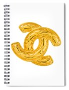 Chanel Jewelry-4 Spiral Notebook