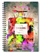 Chanel No. 5 Colored  Spiral Notebook