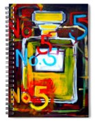 Chanel No. 5 Spiral Notebook