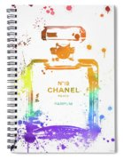 Chanel Number Nineteen Spiral Notebook