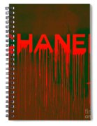 Chanel Plakative Fashion - Neon Weave Spiral Notebook