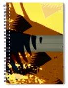 Change - Leaf14 Spiral Notebook
