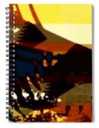 Change - Leaf15 Spiral Notebook