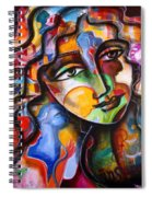 Change, Inspire, Pass It On Spiral Notebook