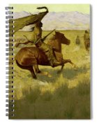 Change Of Ownership -the Stampede Horse Thieves Spiral Notebook