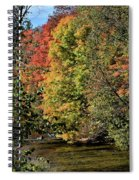 Changing Colours Of The Fall Spiral Notebook
