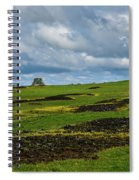 Changing Skies And Landscape Spiral Notebook