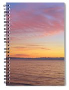 Channel Islands And Pacific At Sunset Spiral Notebook