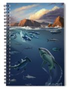 Channel Islands Sharks Spiral Notebook