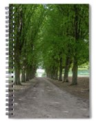 Chantilly France Street Scenes Spiral Notebook