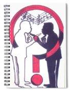 Chants Of A Lunatic  Spiral Notebook