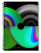 Chaos Balls Spiral Notebook