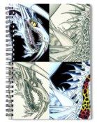 Chaos Dragon Fact W Fiction Spiral Notebook