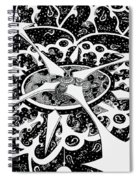 Chaos Theory Spiral Notebook