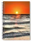 Chaotic Calm Spiral Notebook