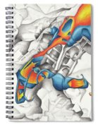 Chaotic Creation Spiral Notebook