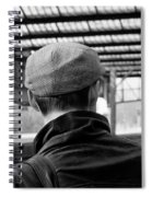 Chap In The Cap #3  Spiral Notebook