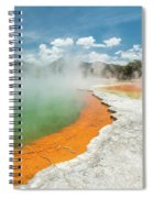 Champagne Pool Spiral Notebook