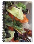 Chapeaux Le Mans Spiral Notebook