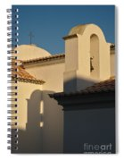 Chapel Architecture In Albufeira Spiral Notebook