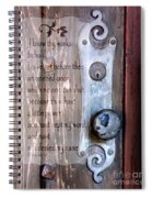 Chapel Door - Verse Spiral Notebook