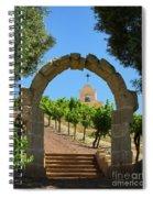 Chapel Hill Vineyard Spiral Notebook