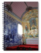 Chapel In Azores Islands Spiral Notebook