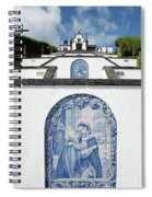 Chapel In The Azores Spiral Notebook