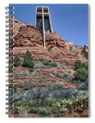 Chapel Of The Holy Cross - Arizona Spiral Notebook