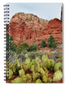 Chapel Of The Holy Cross Spiral Notebook
