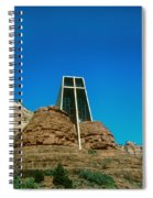 Chapel Of The Holy Cross Sedona Arizona Spiral Notebook