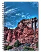 Chapel Of The Rock Spiral Notebook