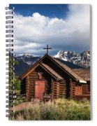 Chapel Of The Transfiguation  Spiral Notebook