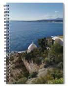 Chapel Over The Sea Spiral Notebook