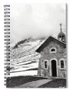 Chapelle Des Aravis Spiral Notebook