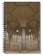 Chapter House, Wells Cathedral, Somerset Uk Spiral Notebook