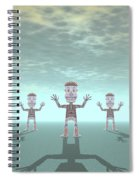 Characters Made Of Stone Spiral Notebook