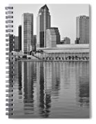 Charcoal Tampa Spiral Notebook