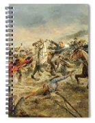 Charge Of The Seventh Cavalry Spiral Notebook