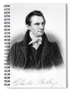 Charles Babbage, English Computer Spiral Notebook