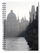 Charles Bridge At Early Morning Spiral Notebook