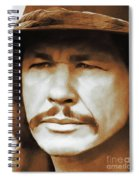 Charles Bronson, Hollywood Legend Spiral Notebook