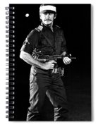 Charles Bronson In Raid On Entebbe 1977  Spiral Notebook