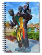 Charles Buddy Bolden Spiral Notebook