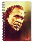 Charles Bukowski, Literary Legend Spiral Notebook