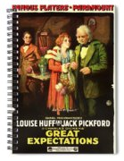 Charles Dickens' Great Expectations 1917 Spiral Notebook