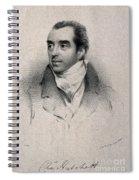 Charles Hatchett, English Chemist Spiral Notebook